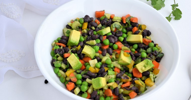 Healthy Pea and Bean Salad