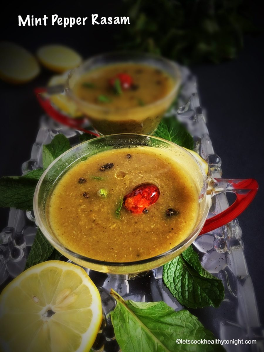 Mint Pepper Rasam