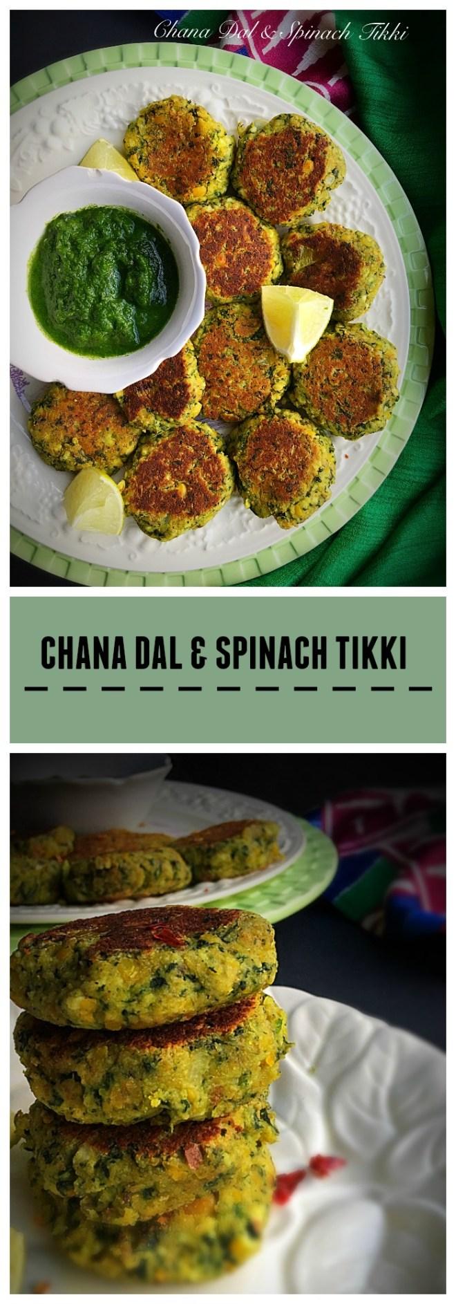 chana-dal-and-spinach-tikki