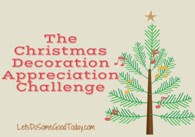Christmas decoration challenge