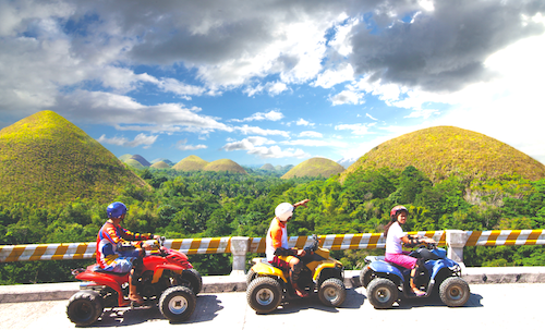 Buggy Ride @ Chocolate Hills
