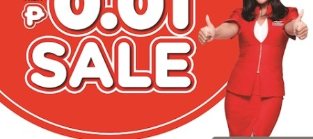 AirAsia One Centavo Seat Sale