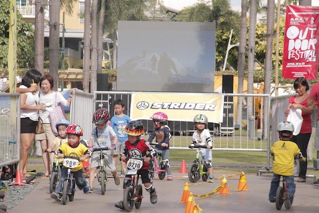 Strider Kids Race
