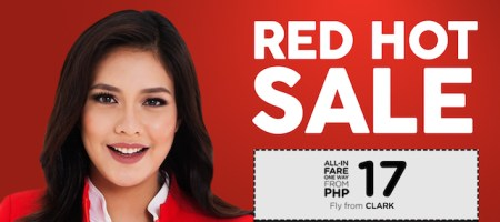 AirAsia Red Hot Seat Sale
