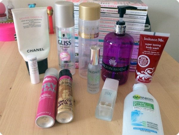 September 2013 Empties