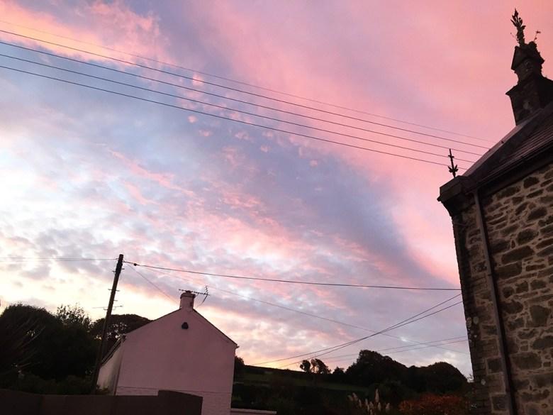 Sunrise in Cornwall