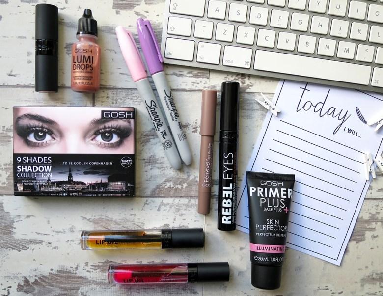 GOSH 2016 Makeup Releases