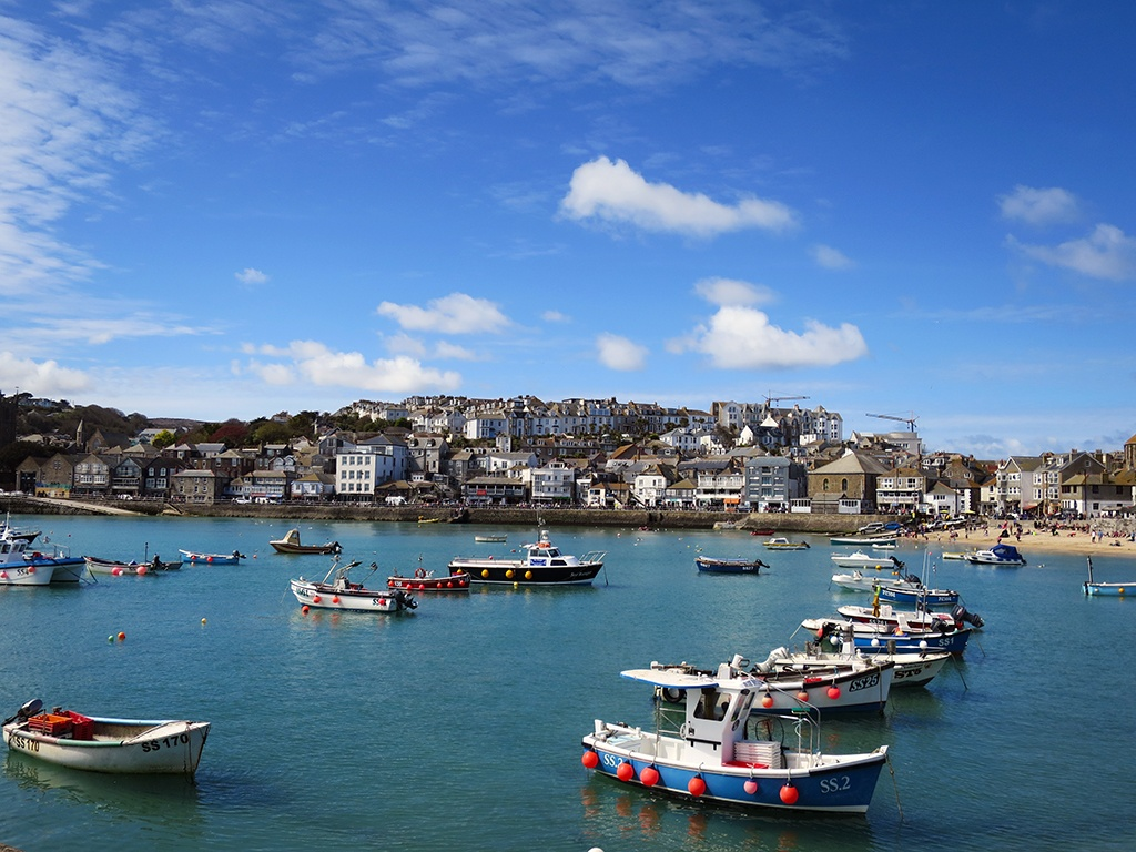 A Day in St Ives Cornwall