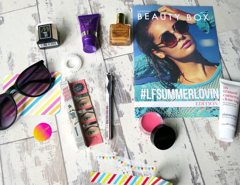 Look Fantastic Beauty Box July 2016