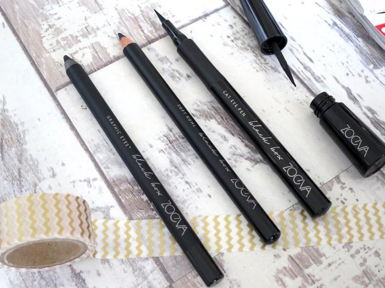 New Zoeva Black Box Eyeliner Collection