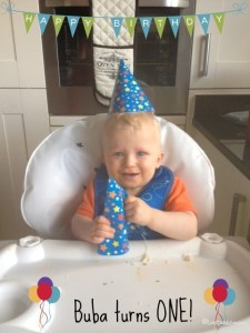 Buba's 1st Birthday!  {Flashback}