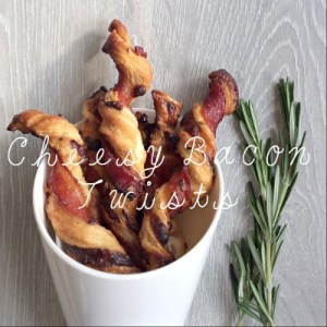 Cheesy Bacon Twists Recipe