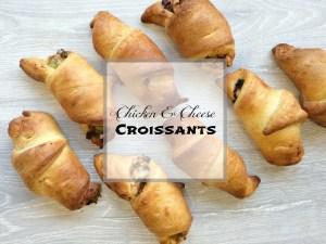 Chicken & Cheese Croissant Recipe