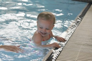 Swimming lessons with Puddle Ducks