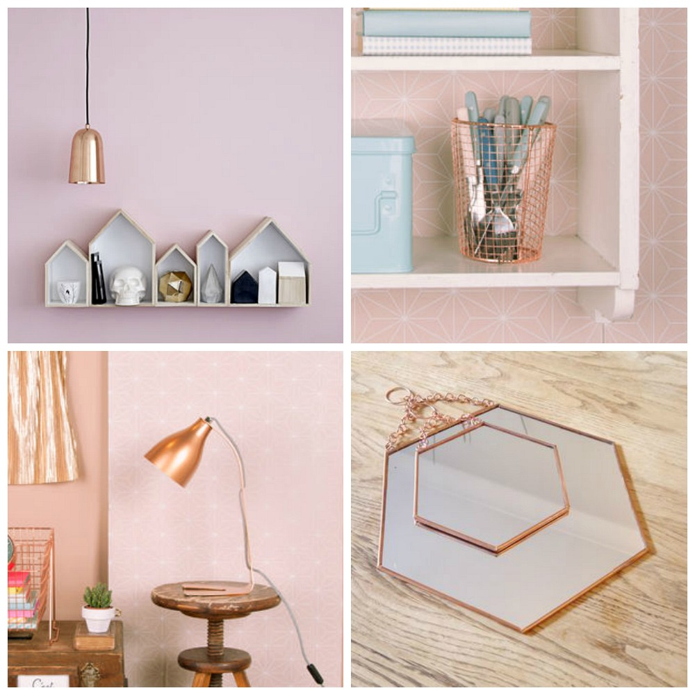 Interiors copper home accessories lets talk mommy for Home decor accessories