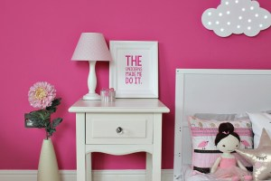A mini makeover for MM's bedroom