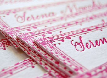 partecipazioni di matrimonio letterpress e calligrafia – LettersLoveLife.com