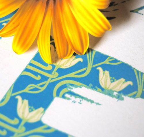 Dettaglio lettering | Arredare con la tipografia | LettersLoveLife