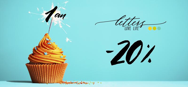 1 an : Letters Love Life fete sa première année