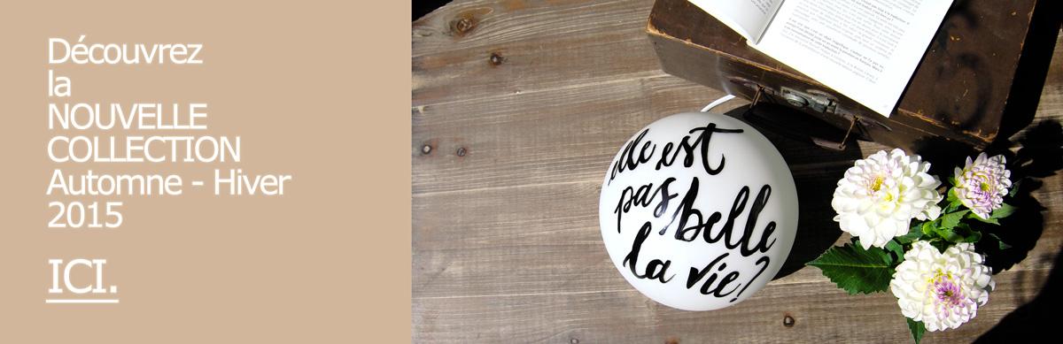 Nouvelle Collection | Letters Love Life | Calligraphie, déco, maison et idées cadeaux