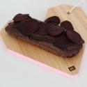 chocoladecake met rode bieten