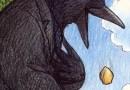 Moraleja El cuervo soberbio y los pavos reales