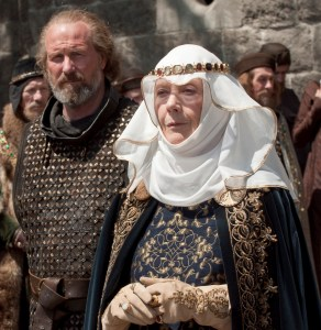 William Hurt ( le prévot) Eileen Atkins ( la reine mère) s'apprêtaient à saluer le retour de Richard Coeur de Lion
