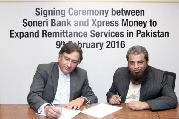 Soneri Bank Partners with Xpress Money to Expand Remittance Services in Pakistan