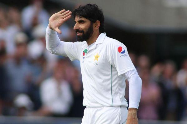 Misbah-ul-Haq salutes