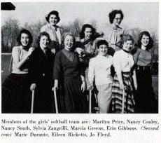 Softball Team, ca. 1955