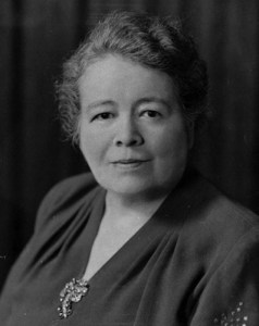 Linna Eleanor Bresette, standard portrait of her, ca. 1930. American Catholic History Research Center and University Archives.
