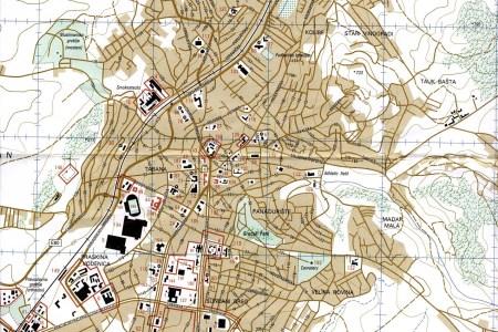 Map Prishtina - pristina map