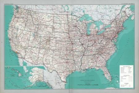 the national atlas of the united states of america perry