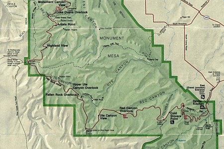 1up travel maps of united states (u.s) national parks