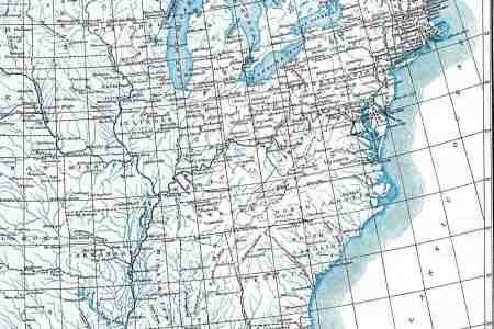 Map Of The United States With Latitude And Longitude Lines - Map of the us with longitude and latitude