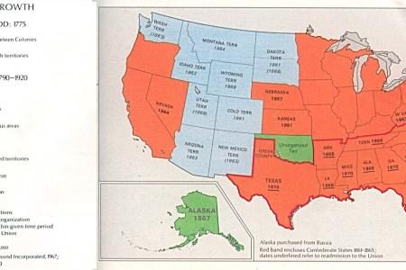 american frontier map