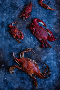 Crab Imperial recipe food photography south florida