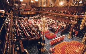House of Lords. Photo: Parliamentary copyright images are reproduced with the permission of Parliament