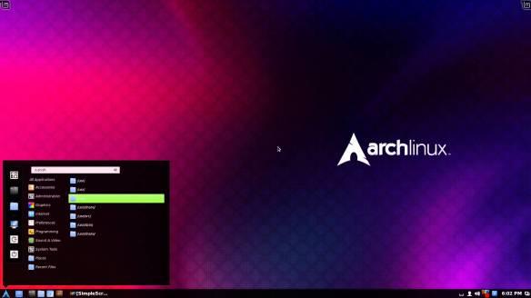 Cinnamon su Arch Linux