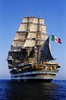 Vespucci in navigazione