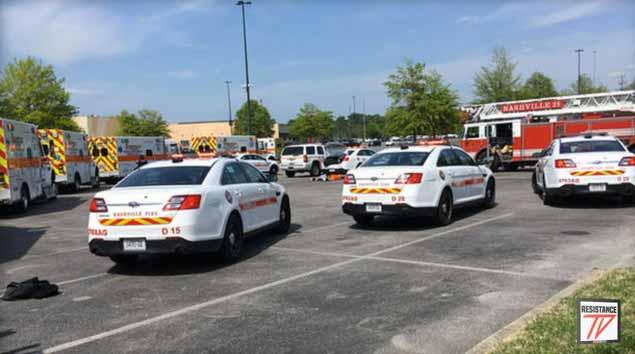 Sparatoria in un centro commerciale di Nashville: 4 i feriti