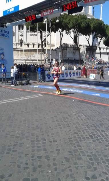 Maratona Roma Marco Lombardi Libertas Livorno