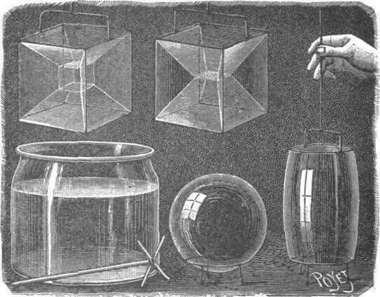 La metamorfosis de una pompa de jabón