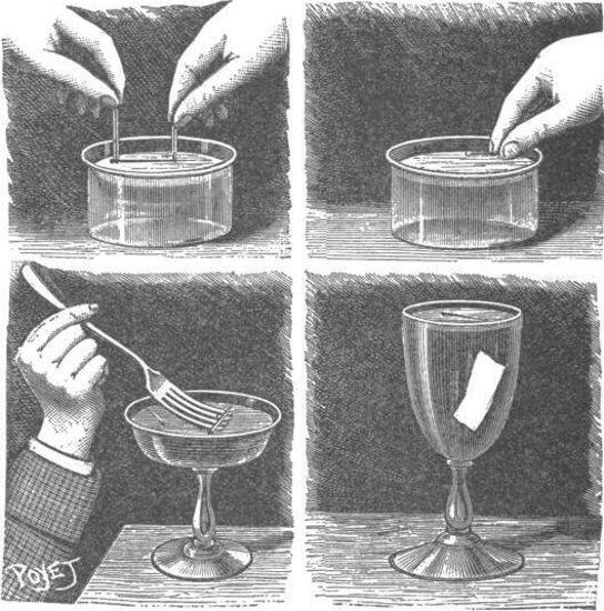 Cómo hacer flotar alfileres y agujas