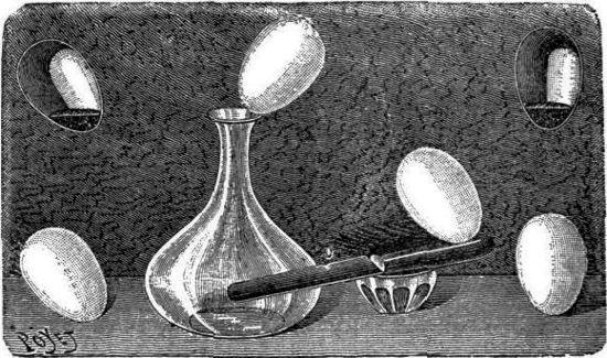El huevo obediente y desobediente