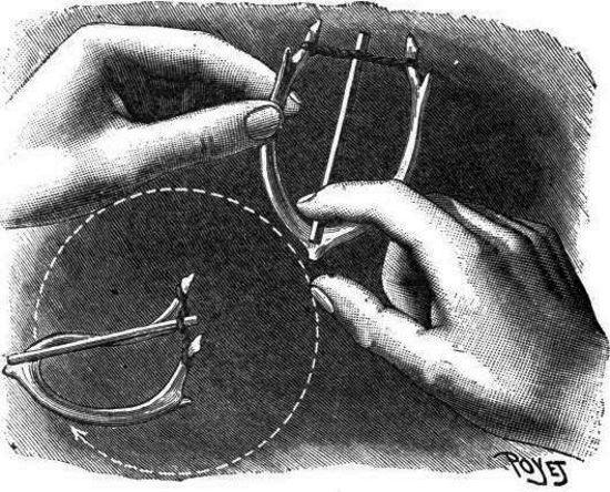 El experimento del hueso de la buena suerte