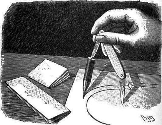 Dibujo lineal sin instrumentos