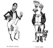 Sir Edward Sassoon y Captain Jessel