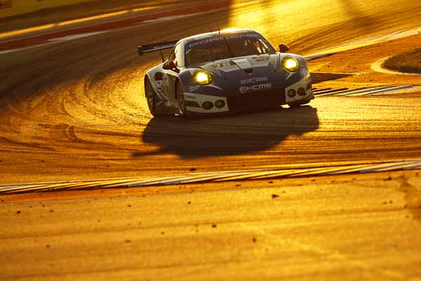 Second place for the Porsche customer team KCMG