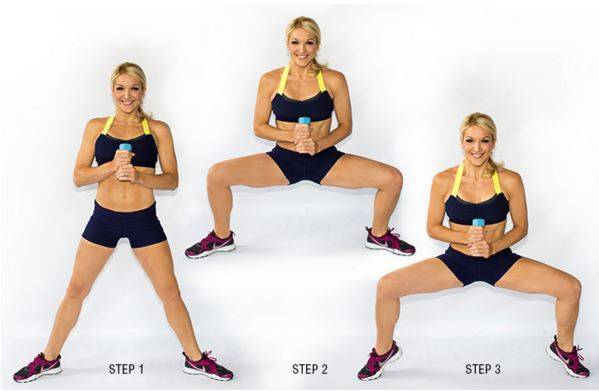 1-The Heel Lifted Squat